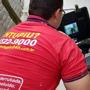 Desentupir 24h - Investigação por vídeo inspeção
