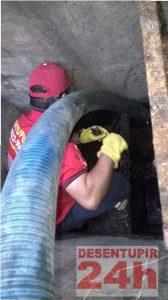 Limpeza Poço Recalque 2