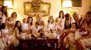 Família reunida no ano novo