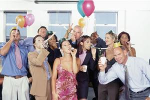 Festa de fim de ano da empresa