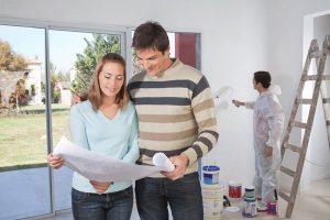 Reforma interior da casa