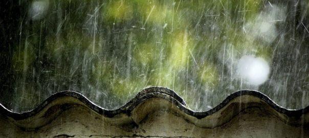 Consequências da chuva de verão