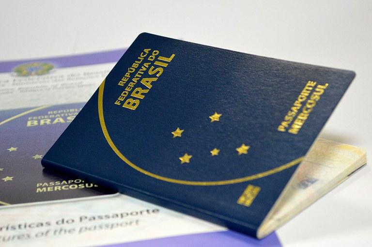 Visto brasileiro - passaporte